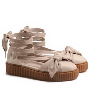 Fenty by Rihanna Bow Creepers NWOT